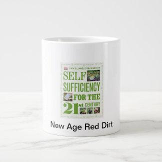 21rst世紀の赤の土 ジャンボコーヒーマグカップ