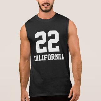 22カリフォルニアのワイシャツ 袖なしシャツ