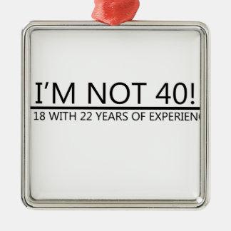 22年間の経験との18! メタルオーナメント