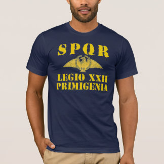 22 Caligulaの第22軍隊-ローマのワシ Tシャツ