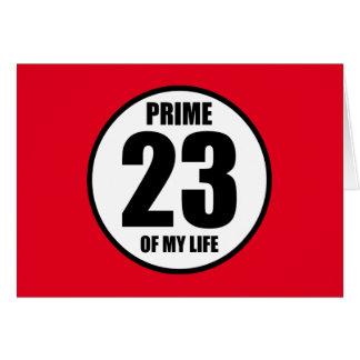 23 -私の生命の全盛 カード