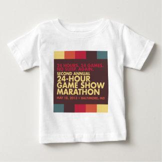 24時間のゲーム番組のマラソンのスワッグ ベビーTシャツ