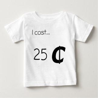 25セント ベビーTシャツ