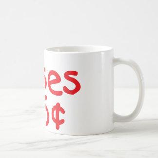 25人のセントのキス コーヒーマグカップ