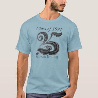 25周年記念の同窓会のワイシャツの人 Tシャツ