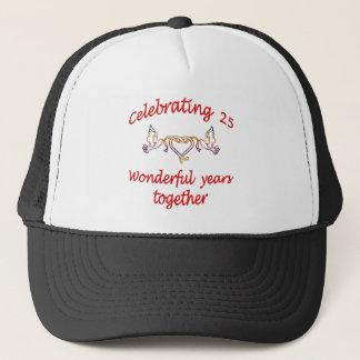 25年を祝うこと キャップ