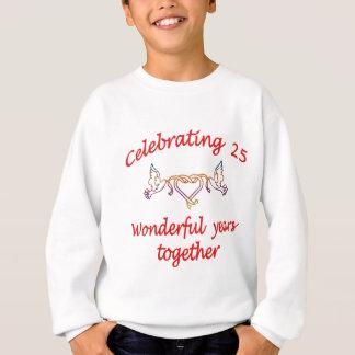 25年を祝うこと スウェットシャツ