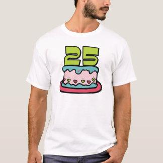 25歳のお誕生日ケーキ Tシャツ