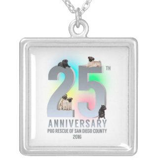 25記念日PRSDC シルバープレートネックレス