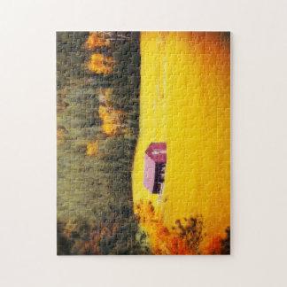 250部分のパズル-サウスダコタ草原の納屋 ジグソーパズル