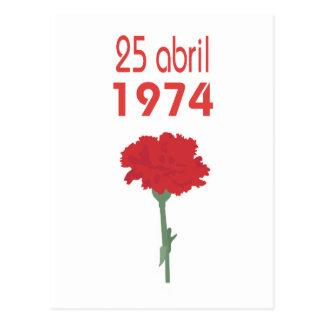 25 Abril ポストカード
