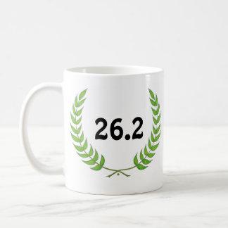 26.2マラソンのマグ コーヒーマグカップ
