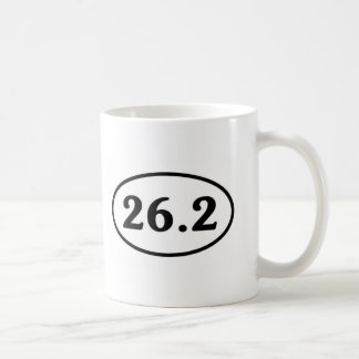 26.2マラソンの楕円形(#Sou1) コーヒーマグカップ
