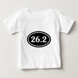 26.2マラソンの楕円形(#SOU2) ベビーTシャツ