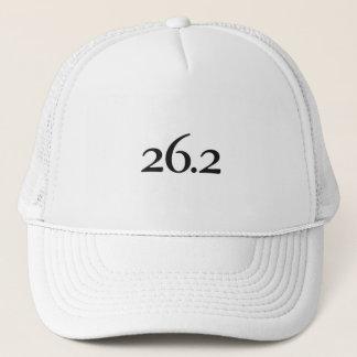 26.2マラソン選手のための帽子 キャップ