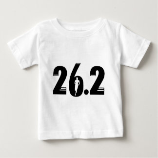 26.2マラソン ベビーTシャツ