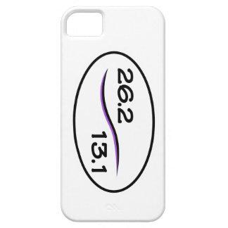26.2及び13.1のマラソン及び半分のマラソンのiPhone 5の場合 iPhone SE/5/5s ケース
