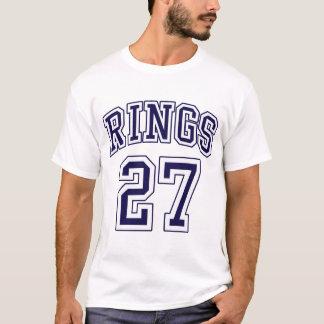 27のリングのニューヨークのTシャツ Tシャツ