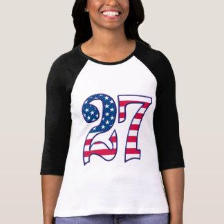 27年齢米国 Tシャツ