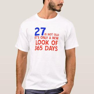 27歳の誕生日のデザイン Tシャツ