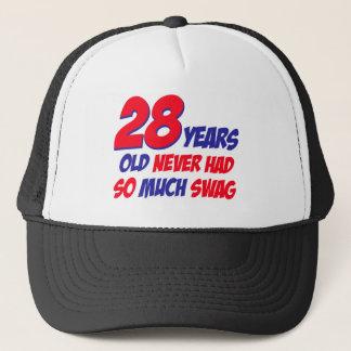 28歳の誕生日のデザイン キャップ