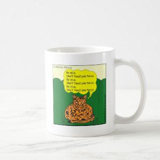 284めい想猫の漫画 コーヒーマグカップ