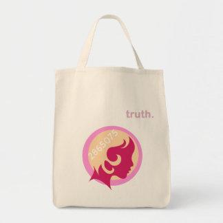 2865075人の女性の3月の食料雑貨のトート トートバッグ