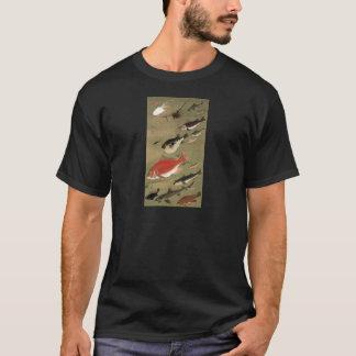 28. 群魚図、若冲のさまざまな魚、Jakuchūの日本芸術 Tシャツ