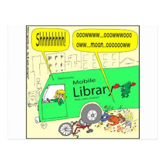 297自動車文庫の漫画 ポストカード