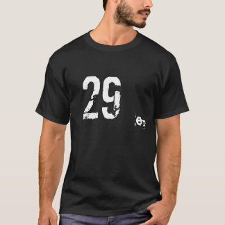 29er MTBのマウンテンバイクの暗闇のTシャツ Tシャツ