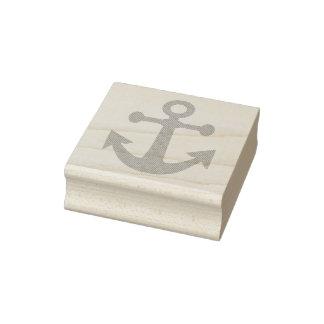 2_によるEtched_Anchor_Rubber Stamp_2 ラバースタンプ
