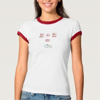 2+2=魚 Tシャツ