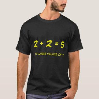 2 + 2 = 5 Tシャツ