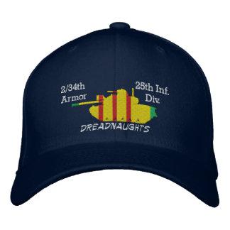 2/34th装甲第25 Inf。 Div. M48によって刺繍される帽子 刺繍入りキャップ