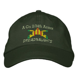 2/34th装甲VSM装甲枝によって刺繍される帽子 刺繍入りキャップ