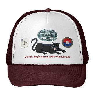 """2/47th歩兵の""""ヒョウ"""" CMBの帽子 キャップ"""