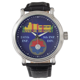 2/47th Inf. 第9 Div. CIB ATCの腕時計 腕時計