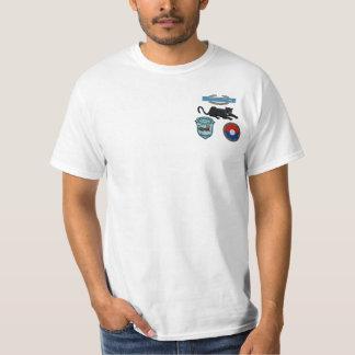 2/47th Inf. CIB、ヒョウ及びパッチパッチのワイシャツ Tシャツ