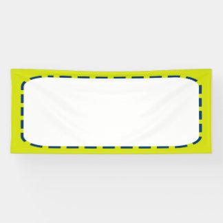 2.5'はx 6'旗DIYのテンプレート文字の写真のイメージを加えます 横断幕