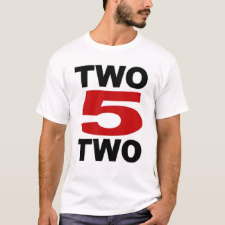 2 5 2 Tシャツ