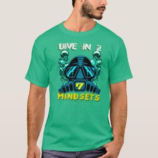 2 7考え方の飛び込み Tシャツ
