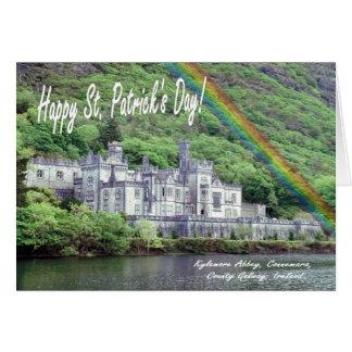 2. Kylemoreの大修道院のアイルランド素晴らしいセントパトリック日 カード