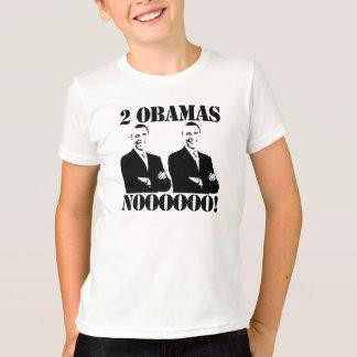 2 Obamas方法無しJosé~ Tシャツ