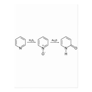 2-Pyridone化学統合2 ポストカード