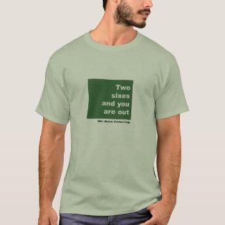 2 Sixesおよびあなたは! Tシャツ