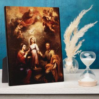 2 Trinities -神聖な家族- Murillo フォトプラーク