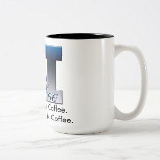 2ASDロゴw/Coffeeの俳句 ツートーンマグカップ
