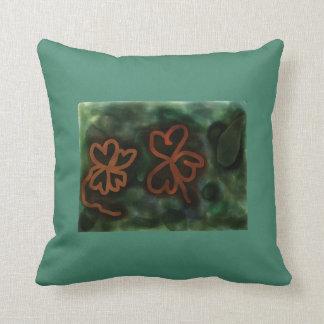 3および4葉のクローバーポリエステル装飾用クッション クッション