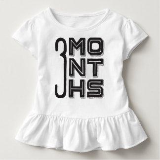 3か月古い トドラーTシャツ