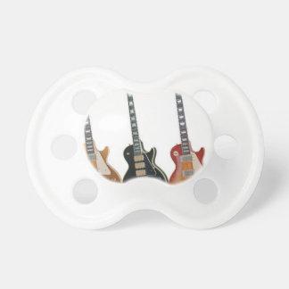 3つのエレキギター おしゃぶり